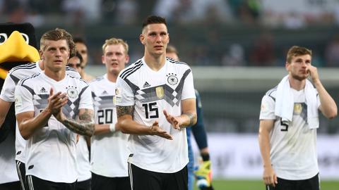 Mittendrin statt nur dabei: Niklas Süle hat sich seinen Platz im deutschen WM-Kader dank guter Leistungen in München verdient.