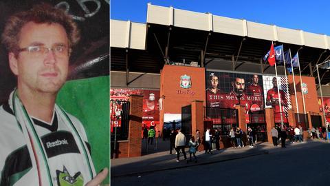 """Gladbach-Fan Rüdiger Nau schrieb die """"Elf vom Niederrhein"""", die immer wieder auch beim FC Liverpool gespielt wird."""
