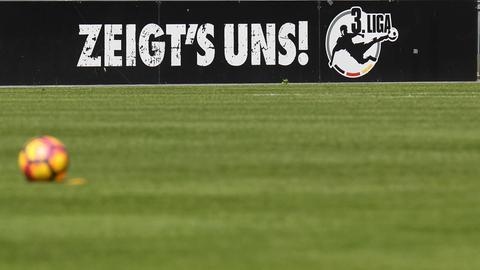 Das Emblem der 3. Liga