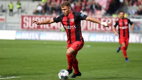 Maximilian Dittgen vom SV Wehen Wiesbaden