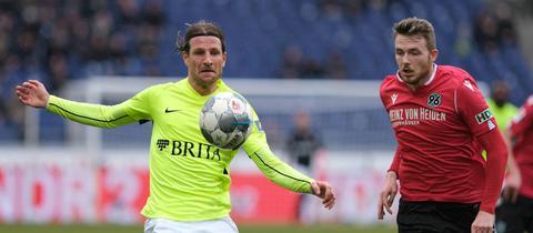 Aigner im Spiel in Hannover