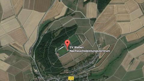 Das Stadion am Halberg in Wehen