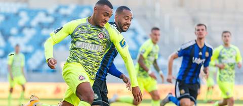 Malone vom SV Wehen Wiesbaden