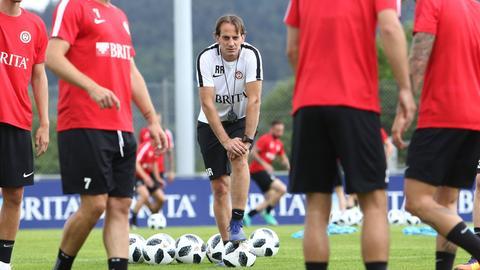 SVWW-Coach Rüdoger Rehm im Training