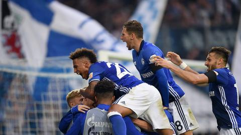 Jubel bei Schalke 04
