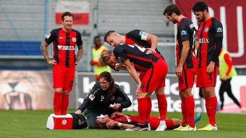 Titsch Rivero und Aigner mit Kopfverletzungen