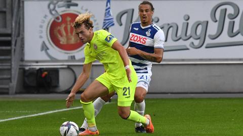 Hollerbach vom SV Wehen Wiesbaden