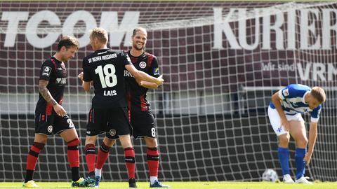 Johannes Wurtz vom SV Wehen Wiesbaden