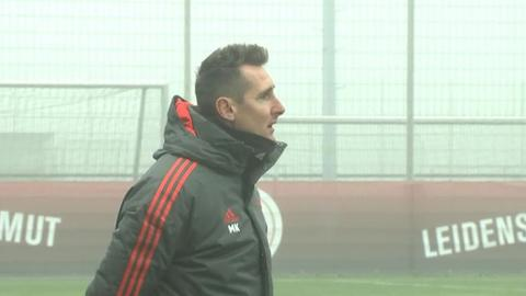 Miroslav Klose zu Gast auf dem Halberg