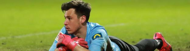 SVWW-Keeper Heinz Lindner im Spiel gegen Aue