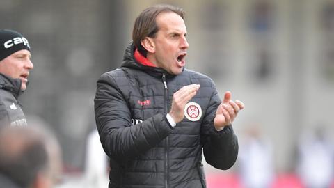 Rüdiger Rehm ist seit 2017 Trainer des SV Wehen Wiesbaden