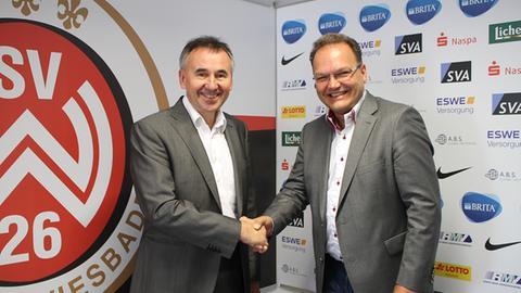 Nico Schäfer vom SV Wehen Wiesbaden