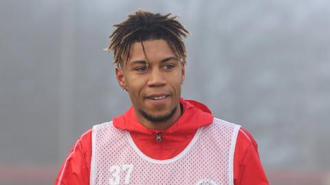 Sidney Friede beim Auftakttraining des SV Wehen Wiesbaden