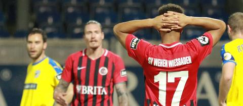 Wehen Wiesbaden gegen Jena