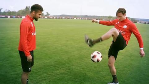 Daniel-Kofi Kyereh und Manuel Schäffler