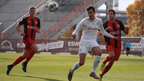 Der SVWW im Spiel gegen Holstein Kiel