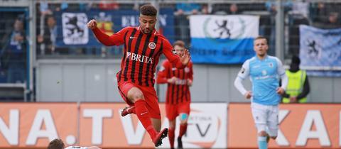 Daniel-Kofi Kyereh im Spiel gegen 1860 München