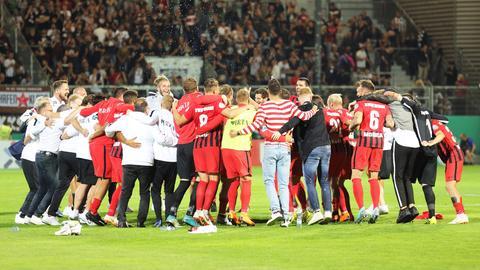 SVWW-Jubel nach der ersten Pokalrunde 2018/2019