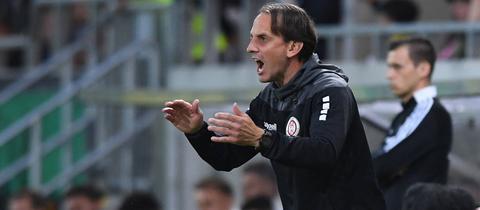 SVWW-Trainer Rüdiger Rehm hatte gegen Havelse großes Glück.