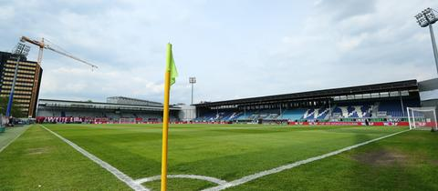 Das Stadion des SV Wehen Wiesbaden
