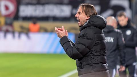 SVWW-Trainer Rüdiger Rehm war nicht ganz zufrieden mit dem Testspielergebnis gegen Waldhof Mannheim.
