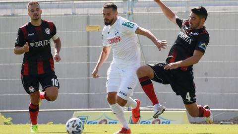 SV Wehen Wiesbaden gegen den SC Verl