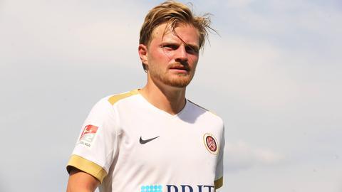 Marcel Titsch Rivero vom SV Wehen Wiesbaden