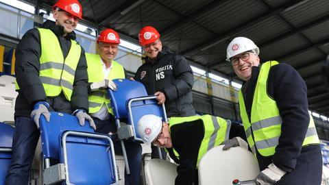 Startschuss zum Umbau der Brita-Arena.