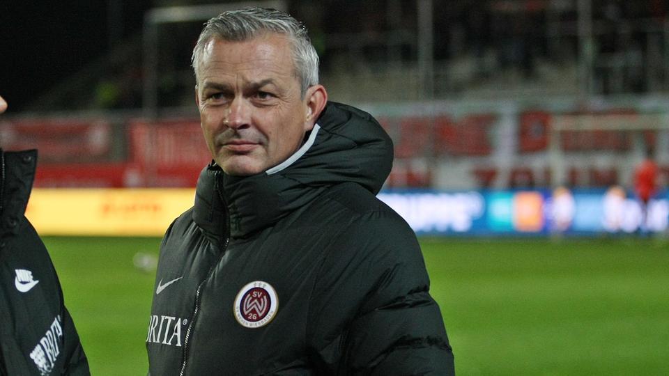 SVWW-Sportdirektor Christian Hock war sauer nach der Entscheidung des Schiedsrichters.