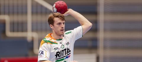 Kristian Björnsen im Einsatz für die HSG Wetzlar