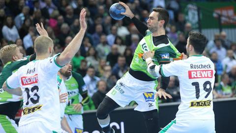 Filip Mirkulovski im Spiel gegen Leipzig
