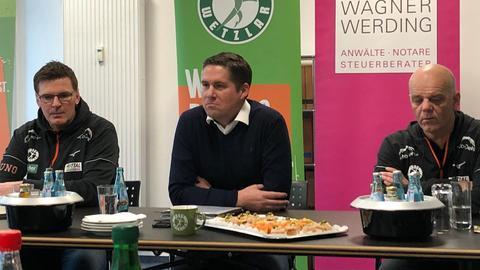 Pressekonferenz bei der HSG Wetzlar