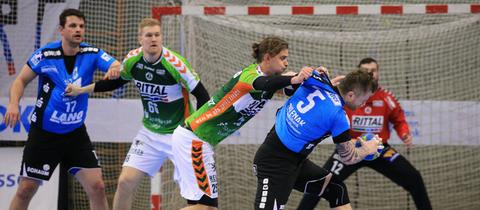 Das Handball-Derby zwischen Hüttenberg und Wetzlar