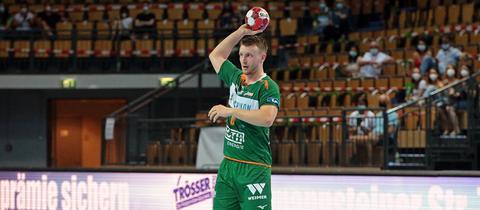Philipp Henningsson im Trikot der HSG Wetzlar