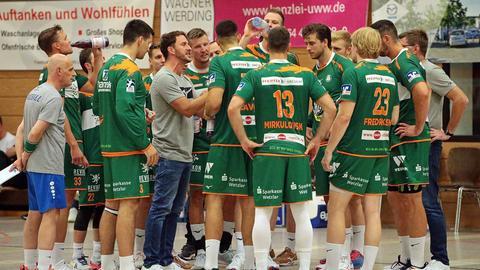 Das Team der HSG Wetzlar in der Vorbereitung.
