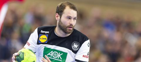 Steffen Fäth am Ball