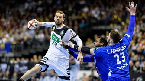 Steffen Fäth setzt zum Wurf an.