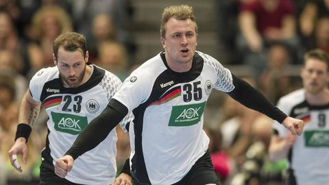 Steffen Fäth und Julius Kühn hoffen auf ein EM-Ticket