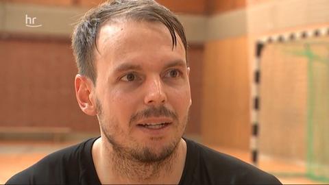 Kai Häfner beim Interview mit dem hr