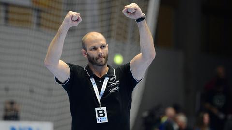 Heiko Grimm, Trainer der MT Melsungen