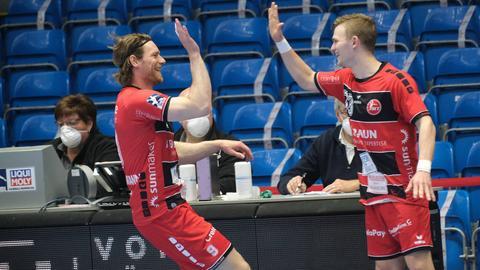 Tobias Reichmann (l.) und Timo Kastening.