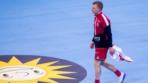 Timo Kastening nach dem Finale