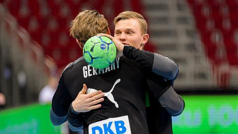 Timo Kastening und Tobias Reichmann
