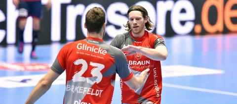 Tobias Reichmann und Simon Birkefeldt.