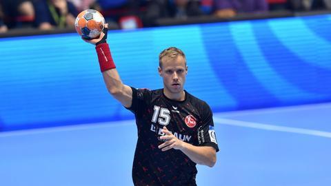 Lasse Mikkelsen am Ball
