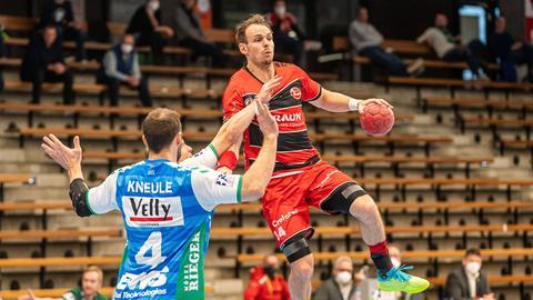 Kai Haeffner führte die MT Melsungen zum Sieg in Göppingen.