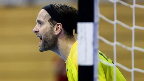 MT-Torhüter Silvio Heinevetter war nicht zufrieden nach dem Sieg.