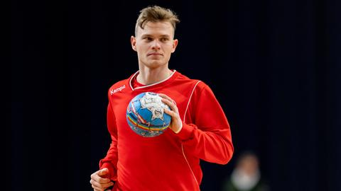 Handball-Nationalspieler Timo Kastening