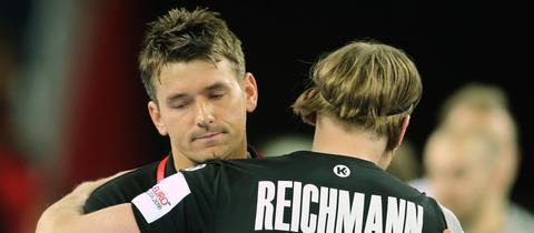 Prokop umarmt Reichmann