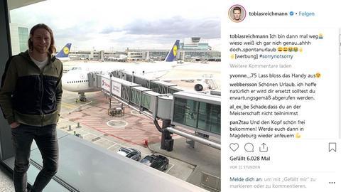 Instagram-Beitrag von Tobias Reichmann